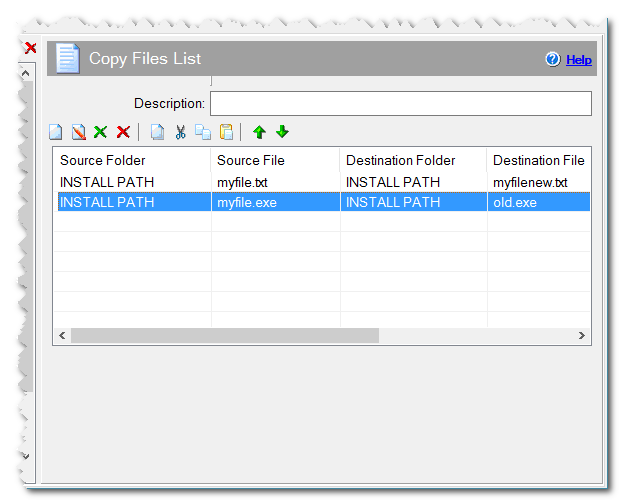 Copy List Files