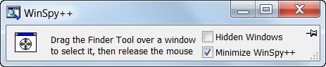 Программа WinSpy